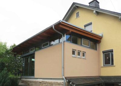 Erweiterung Einfamilienhaus